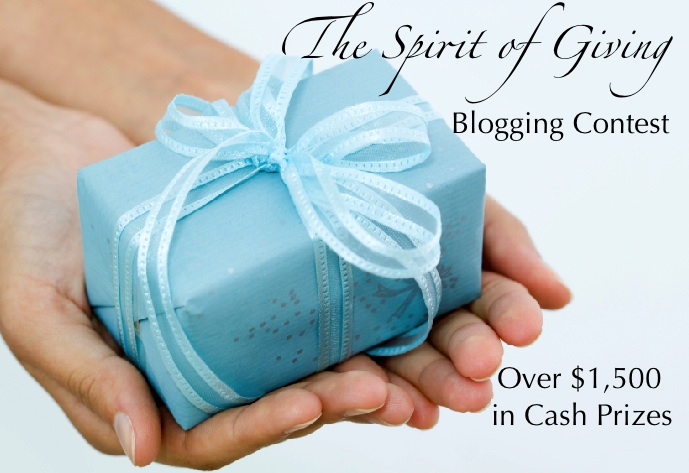 Spirit of Giving Blogging Contest