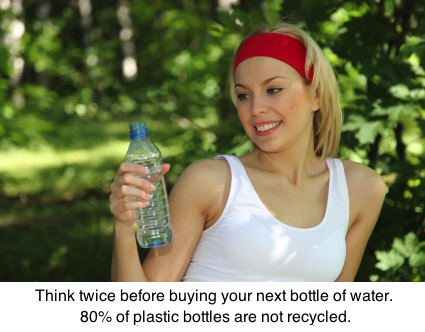 stop consuming bottle water