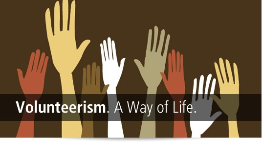 volunteerism - a way of life for students