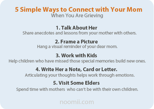 5 ways to connect with your dead mom