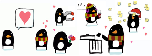 acts of kindness penguins